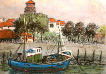 jean roby peintre du pays basque pastel cadres hendaye bayonne st jean de luz pays basque expo. Black Bedroom Furniture Sets. Home Design Ideas