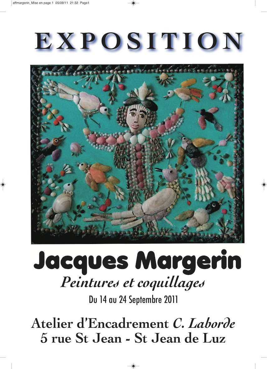 exposition Jacques Margerin